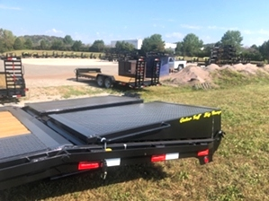 Pintle Trailer 25ft Flatbed By Gator