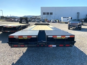 Pintle Trailer Pintle Trailer 14000 GVWR Pintle Trailer Pintle Trailer 14000 GVWR. Dexter 7,000 pound axles, 12in I-Beam frame and extra wide loading ramps.