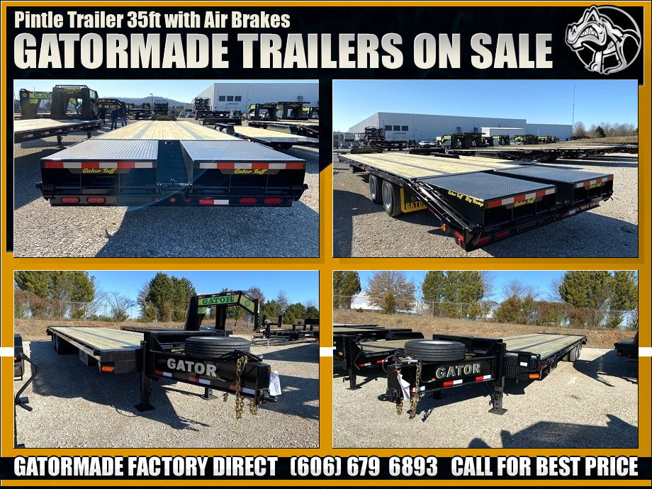 Air Brake Pintle Trailer 44K