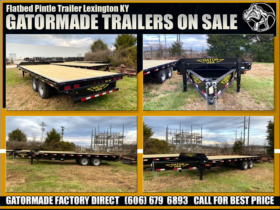 Image Tandem Axle Pintle Trailer 14K